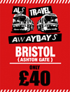 Return Coach to Bristol (Date 10/02/18 DEP 7AM)
