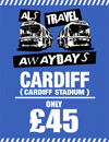 Return Coach to Cardiff (Date 13/01/18 DEP 6AM)