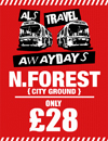 Return Coach to Nottingham (Date 30/12/17 DEP 8:30AM)