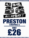 Return Coach to Preston (Date 30/09/17 DEP 9AM)