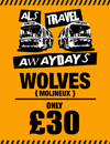 Return Coach to Wolves (Date 09/12/17 DEP 8AM)
