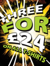 ALS 3 for £24 T-Shirt Offer