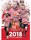 The Official Sunderland AFC A3 Calendar 2018