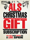 ALS Christmas Gift Subscription