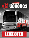 Return Coach to Leicester (22/11/14 Dep 8am)
