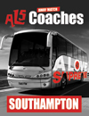 Return Coach to Southampton (18/10/14 Dep 6am)