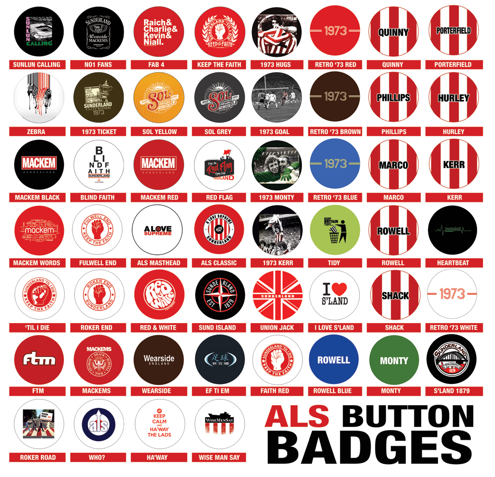 ALS Button Badges (52 Designs Now Available!) - Click Image to Close