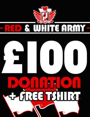 Donate £100 and get a free t-shirt - Click Image to Close