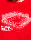 Ha'way the Lads: Stadium